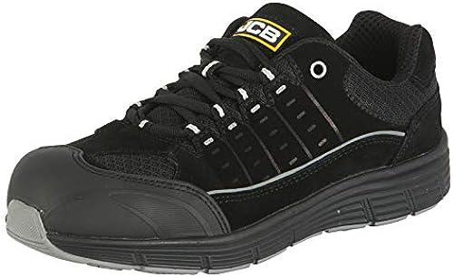 JCB Workwear Trekker Trainer Trainer Trainer Chaussures de sécurité, taille 5, Noir ae4