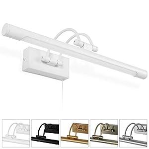 MantoLite LED Lámparas de Pared 8W,Dormitorio Iluminación de Interior Con Cabeza de Lámpara Giratoria e Interruptor,Baño…