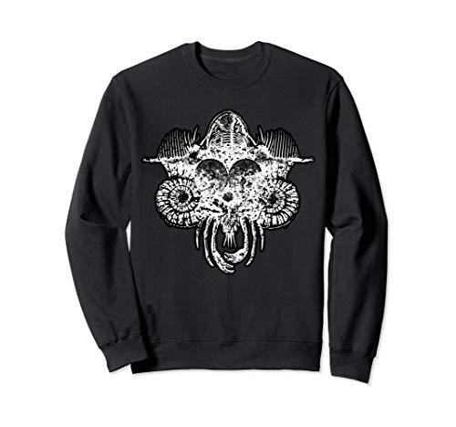 Lord of Marine Fossils; Trilobite Ammonite Nautilus Seashell Sweatshirt