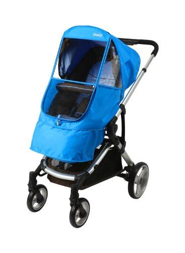 Manito Elegance Beta - Protector contra la lluvia para cochecito, Azul