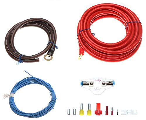 Kabelkit 20qmm 100% Kupfer Profi Line Power Kabel Set