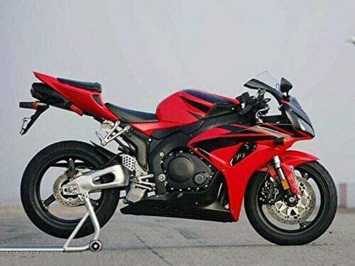 Portland Mall Lorababer Motorcycle Black Red ABS Kansas City Mall Plastic Fairing Injection Kit