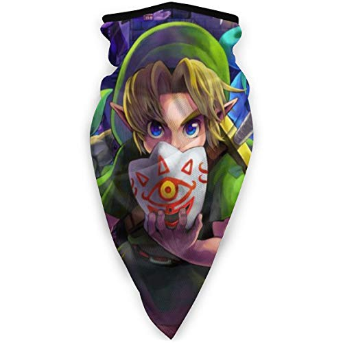 Grtswp The Legend Of Zelda Maske Stirnband Bandana – Outdoor Kopfbedeckung, Schal, Bandana, breit, Headwrap Balaclava Tube Multifunktional