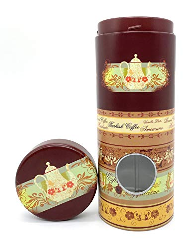 Perfekto24 Aufbewahrung kaffeepads - Kaffeepaddose hält die Pads länger frisch - Pad Dose für Kaffeepads - Vorratsdsdose für Kaffeepads - Plus Padheber