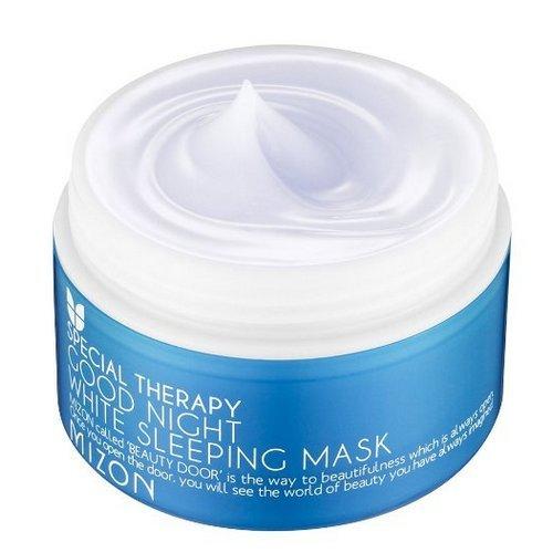MIZON Schlafmaske Good Night White 80 ml für aufhellende und feuchtigkeitsspendende Hautschutzschicht