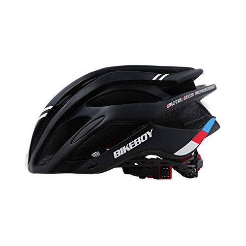 BWBIKE Full Shape Unisex Bike Casco Traspirante Ciclismo Casco Regolabile City Bike Protezione di Sicurezza Outdoor Sport Caschi