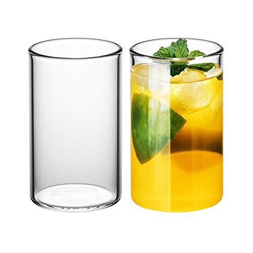 GAIWAN ICEGOLD330 x2: Set de 2 Vasos de Agua, Copa de Cóctel...