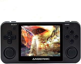 Consoles de Jeux Portables , RG350M Console de Jeux Retro OpenDingux Tony System , Free with 32G TF Card Built-in 2500 Jeu...