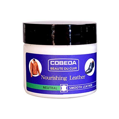 tidystore Furniture Clinic Leather Recolouring Balm, Lederfarben-Restaurator für Möbel Leder-Farbreparatur für verblasste Kratzsofas Autos Schuhe und Kleidung 60 ml
