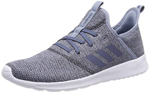 adidas Damen Cloudfoam Pure Laufschuhe, Grau (Raw Grey S18/Tech Ink/Core Black), 36 EU