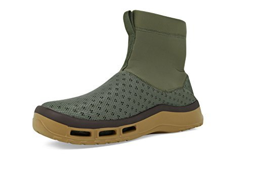SoftScience The Fin Boot Men's Boating/Fishing Boots - Sage, Size 9