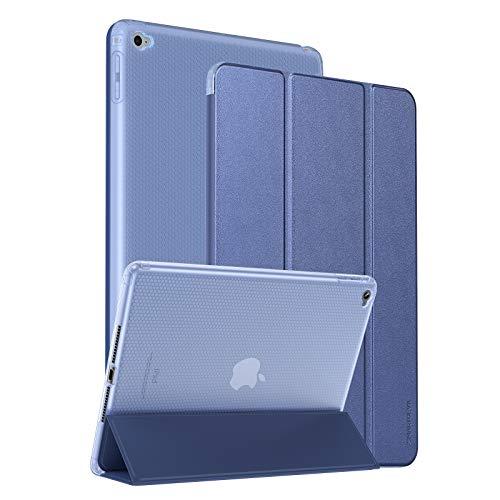 SmartDevil Funda para iPad Air 2 con Smart Cover, Ligera y Delgada 9.7' Protectora Case para iPad Air 2 2014 con Soporte Función y Auto Sueño/Estela, Carcasa para iPad Air 2 A1566 A1567 Azul
