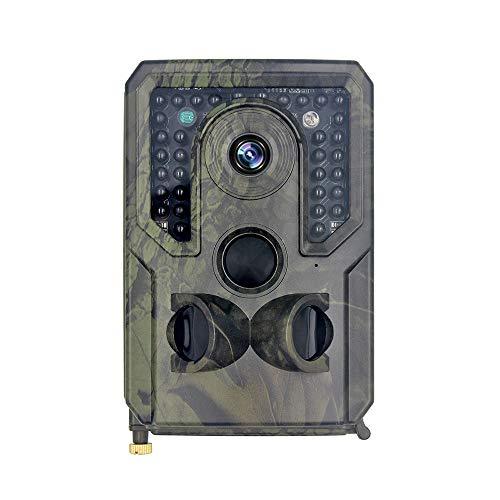 Blusea Neueste PR400 Wildkamera 12MP 1080P Jagdkamera Unterstützt TF-Karten mit bis zu 32 GB 34-teiligen 940 nm IR-LEDs 15m Nachtsicht und IP54 Kann Normal bei 70 ° C Arbeiten
