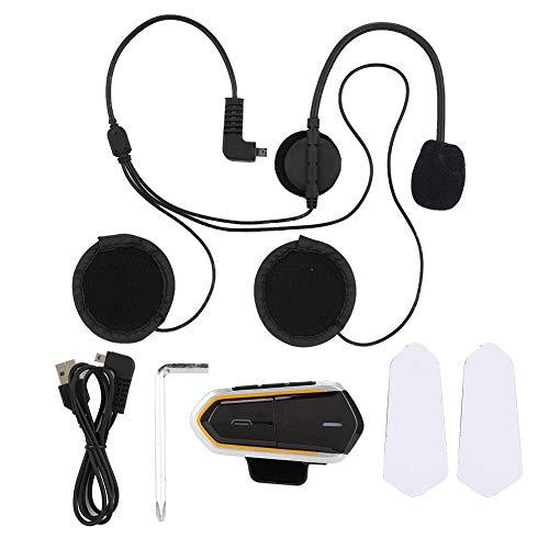 Helm bluetooth headset draadloze intercom intercom met FM-radio telefoon voor motorfiets