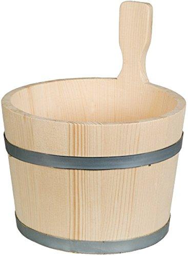 HOFMEISTER® Bottich, trichterförmig, 1 Griff, 5 Liter, aus Fichtenholz