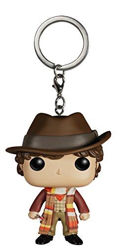 Funko- Pocket Pop Keychain Who Figura 4th Doctor, 4994