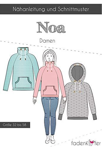 Schnittmuster und Nähanleitung - Damen Pullover - Noa