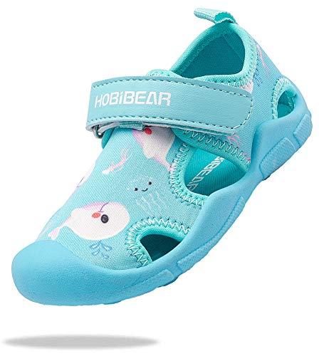ChayChax Zapatos de Agua para Niños Sandalias con Punta Cerrada de De