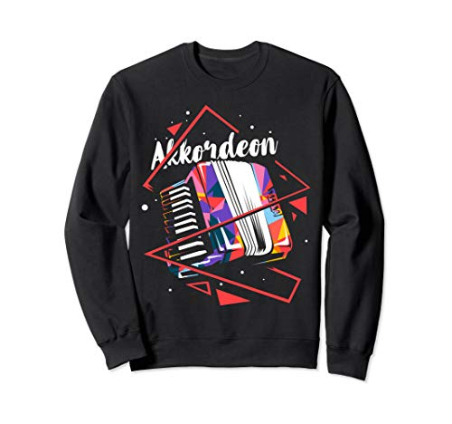 Akkordeon Pianoakkordeon Knopfakkordeon Sweatshirt