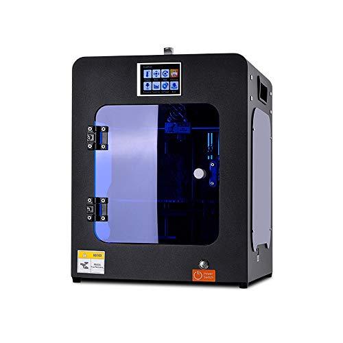 JFCUICAN Impresora 3D Impresora 3D HS-Mini Impressora Máquina de impresión asequible en 3D MK10 Extrusora Reprap Prusa I3 Mk8 Hotend Estudiante DIY Currículum I4