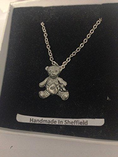 Baby Teddy PP-G73 - Collar chapado en platino, color plateado