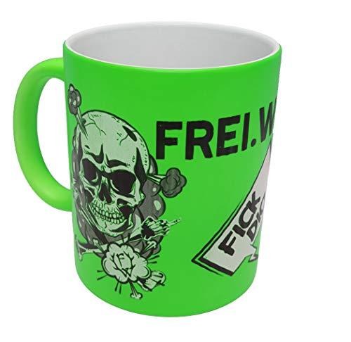 Frei.Wild - FDUVD, Tasse, Farbe: Neongrün
