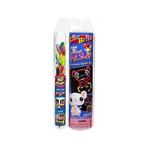Hasbro Littlest Pet Shop Lite Brite Refill Set with Pegs
