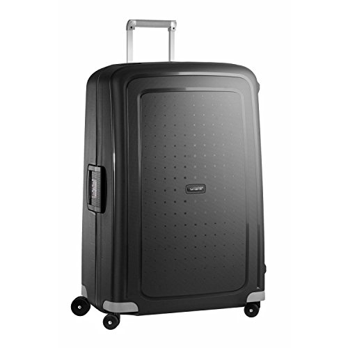 Samsonite S'Cure Hardside Luggage with Spinner Wheels, Black, Checked-Large 30-Inch