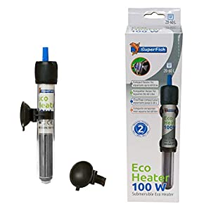 Superfish Aquarium Eco Heater 50 Watt 0-30 Litres