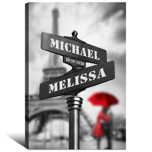 Personalized Names Canvas Art