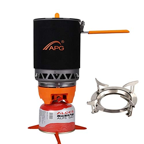 APG 1600ml Portable Camping Gas Stove Cooking System Butane Propane Burners