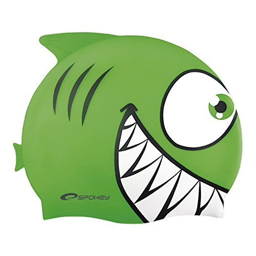 Spokey Haifisch für Kinder, Badekappe, Bademütze, Badehaube, Cap, spokey:Hai.
