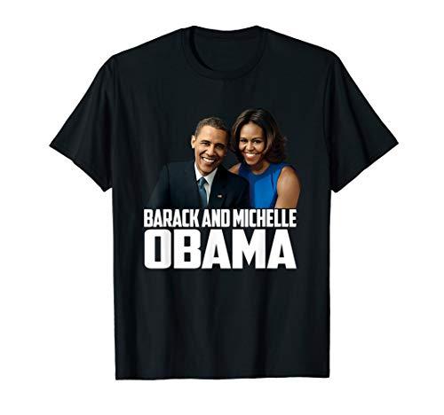 Barack and Michelle Obama gift I love Obama's Black Proud T-Shirt