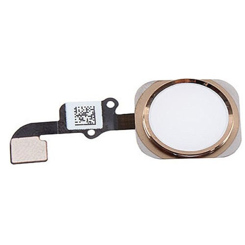 Tutti i gadget sostituzione tasto Home Flex cavo Touch ID Assembly bianco e nero per iPhone 6 (iPhone 6, bianco)