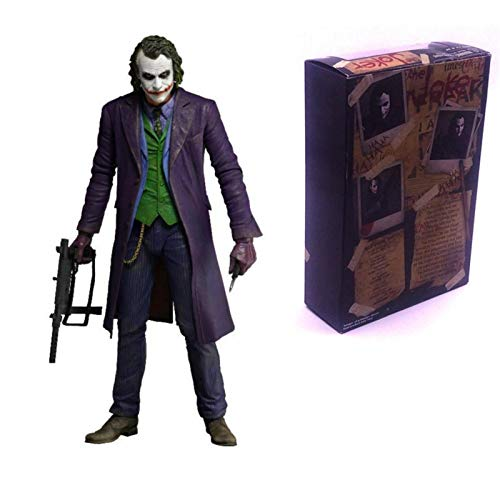 7-Inch The Joker Action Figure, DC Comics Multiverse Signature Collection The Dark Knight