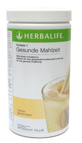 HERBALIFE - Formule 1 - Boisson Nutritionnelle éléments nutritifs - la vanille