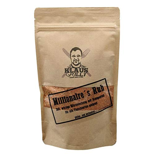 Klaus grillt, Millionaire Rub, 750 g Standbeutel