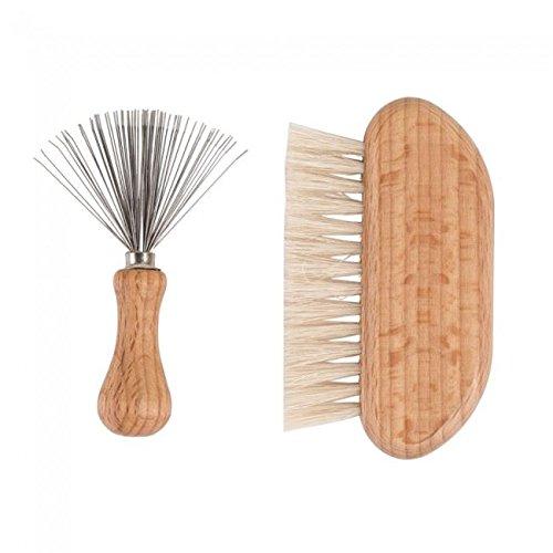 Redecker Haarbürsten-Reinigungs-Set 2 teilig