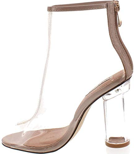 Clear high heel boots _image1