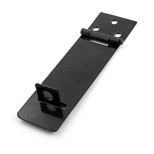Silver Tone Metall Schrank Tore Vorhängeschloss Tür-Verriegelung Haspe Staple Set