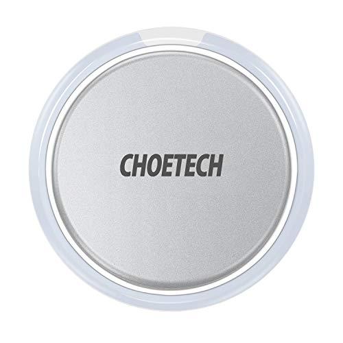 qi wireless charger with smart lighting sensor