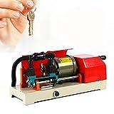 Fetcoi Macchina per fotocopiatrice a chiavi orizzontali, macchina per chiavi a manovella per porta di casa, trapano trapano