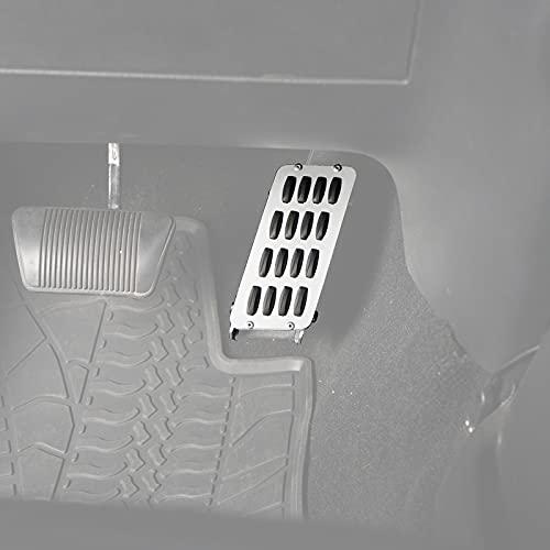 u-Box for Jeep JK Wrangler Gas Pedal Extender Cover Metal Short Driver Side Foot Rest Adjustable