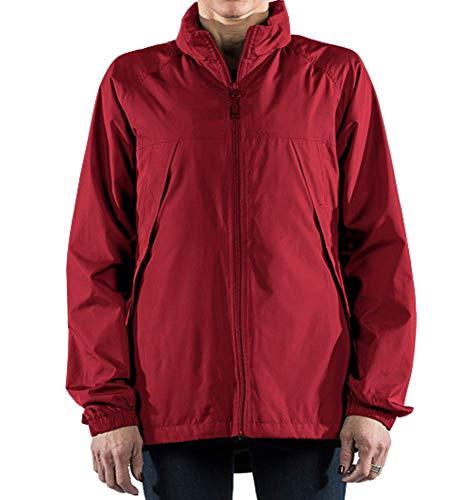 SCOTTeVEST Womens Pack Windbreaker Jacket - Spring Jackets for Women 19 Pockets RED M1