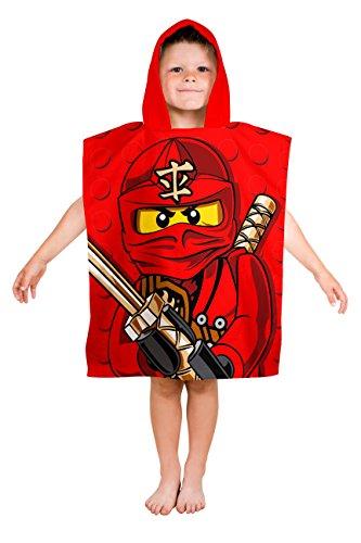 LEGO Ninjago Warrior niños Poncho