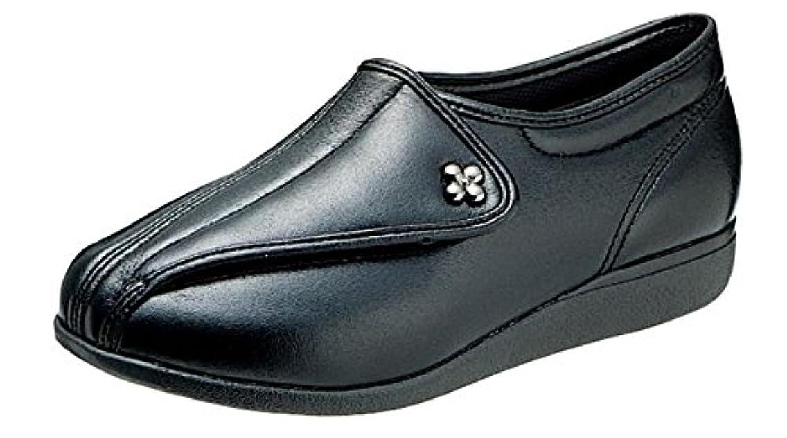 売る脱臼する不機嫌快歩主義L011 ブラックスムース 【 3E 】 ?歩くことを医学的に分析して開発しました。もっと元気になれる靴?快歩主義