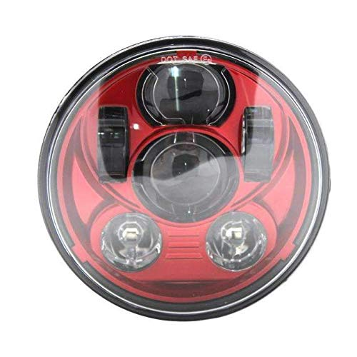 Eagle Lights Indian Scout Red LED Headlight Kit - Fits 2014 to Current Scout 60, Scout and Scout Bobber