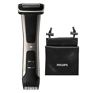 Philips 7000 series BG7025/13 afeitadora corporal Negro - Afeitadoras corporales (AC/Batería, Ión de litio, 80 min, 1 h)
