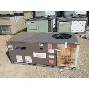 York ZE036N11D4A1AAA2A1 3 TON 2 Stage Convertible Natural Gas/Electric Packaged Unit, 14 SEER 80.2% 460/60/3 R-410