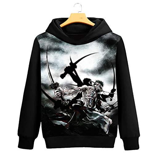 HOSD los Camisa los de Hombres de de Hombres Suéter de Larga Camisa Manga Tocar Estudiante del Hermoso Fondo